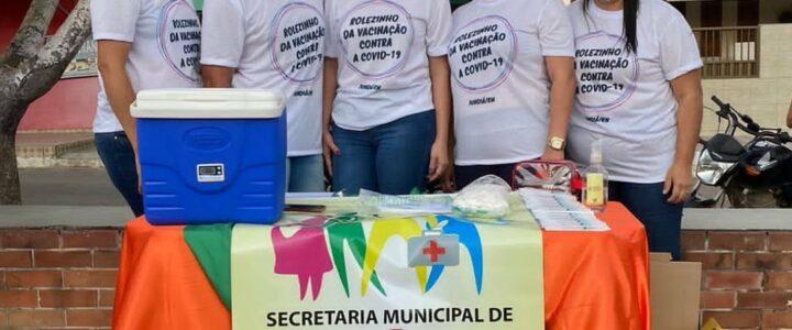 Jundiá realiza o  Rolezinho da Vacinação no centro da cidade