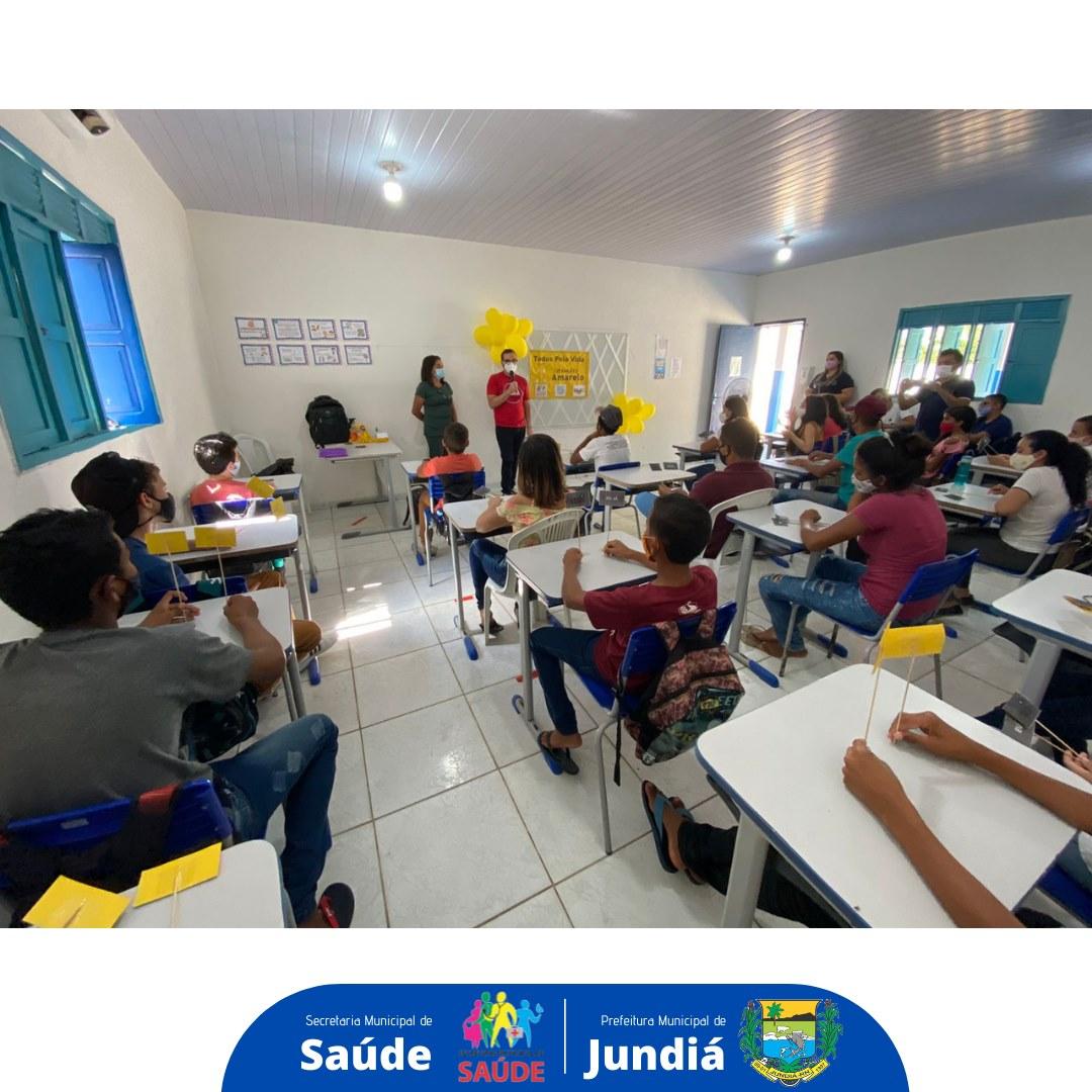 Secretaria de Saúde e Educação promovem o Programa Saúde na Escola