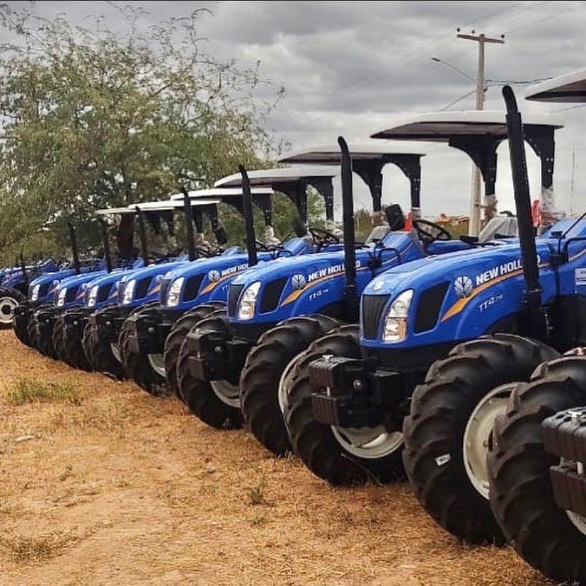 Jundiá recebe doação de um trator agrícola uma carreta agrícola e uma grade aradora
