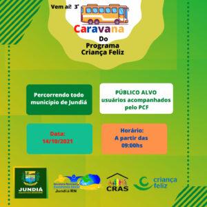 Secretaria de Assistência realiza Caravana do Programa Criança Feliz
